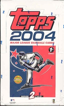 2004 Topps Series 2 First Edition Baseball Hobby Box