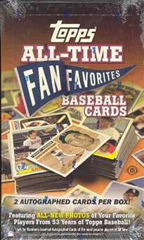 2004 Topps All Time Fan Favorites Baseball Hobby Box