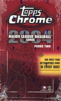 2004 Topps Chrome Series 2 Baseball Hobby Box