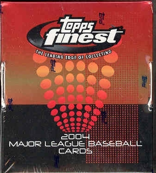 2004 Topps Finest Baseball Hobby Box