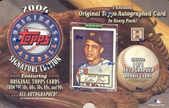 2004 Topps Originals Baseball Hobby Box