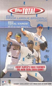 2004 Topps Total Baseball Hobby Box