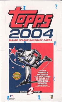 2004 Topps Series 2 Baseball Jumbo Box