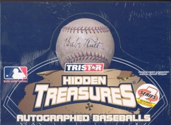 2004 Tristar Hidden Treasures Autographed Baseballs Series 2 Hobby Box