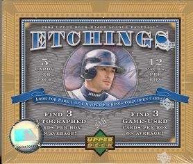 2004 Upper Deck Etchings Baseball Hobby Box