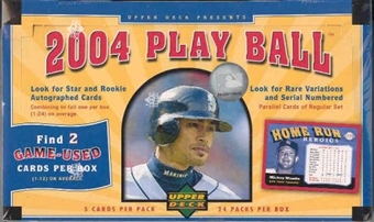 2004 Upper Deck Play Ball Baseball Hobby Box