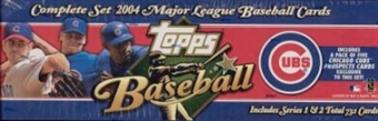 2004 Topps Factory Set Baseball (Box) (Chicago Cubs) - Very Rare!