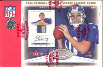 2004 Fleer Hot Prospects Football Hobby Box