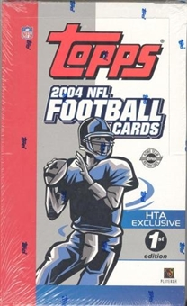 2004 Topps First Edition Football Hobby Box
