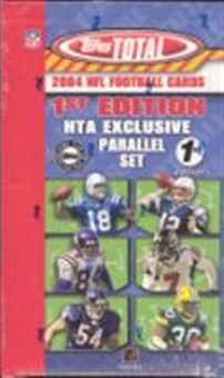 2004 Topps Total 1st Edition Football Hobby Box