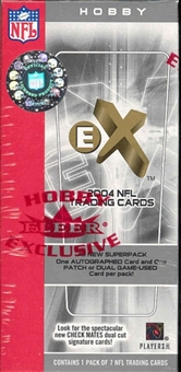 2004 Fleer E-X Football Hobby Box