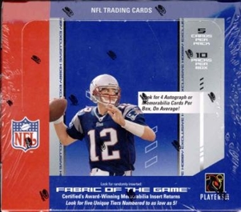 2004 Leaf Certified Materials Football Hobby Box