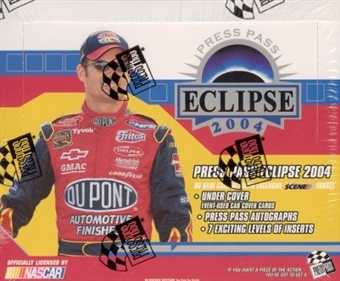 2004 Press Pass Eclipse Racing Hobby Box