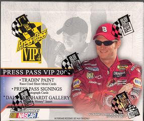 2004 Press Pass VIP Racing Hobby Box