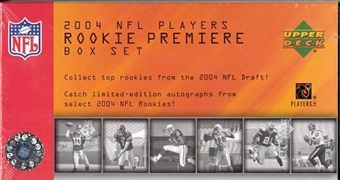 2004 Upper Deck NFL Players Rookie Premiere Football Box Set