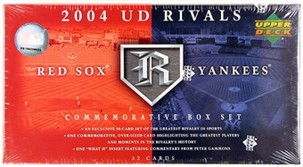 2004 Upper Deck Rivals Yankees Vs Red Sox Baseball Factory Set (Box)