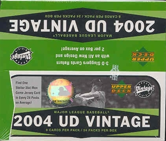 2004 Upper Deck Vintage Baseball 24 Pack Box