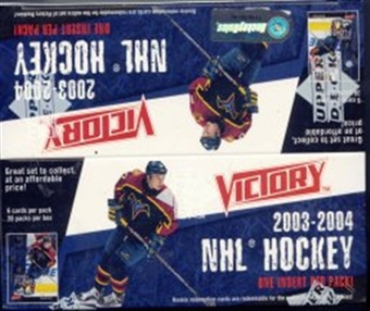 2003/04 Upper Deck Victory Hockey Box
