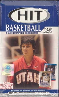 2005/06 Sage Hit Basketball Hobby Box