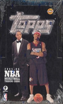 2005/06 Topps Basketball First Edition Hobby Box
