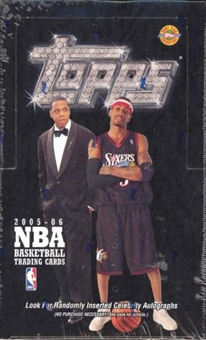 2005/06 Topps Basketball Jumbo Box