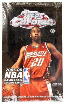 2005/06 Topps Chrome Basketball Hobby Box