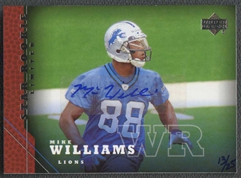 2005 Upper Deck Rookie Predictor Autographs #225 Mike Williams 13/25