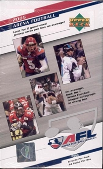 2005 Upper Deck Arena Football Hobby Box