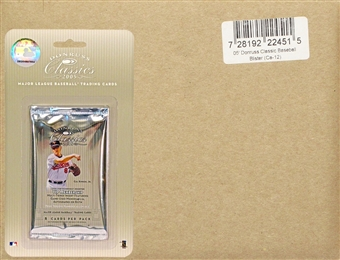 2005 Donruss Classics Baseball Hobby 12-Pack Box (12 Blister Packs Per Box!)