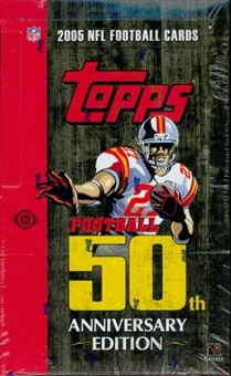 2005 Topps Football Hobby Box