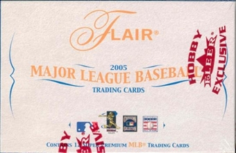 2005 Fleer Flair Baseball Hobby Box