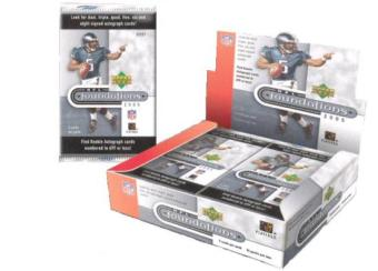 2005 Upper Deck Foundations Football Hobby Box