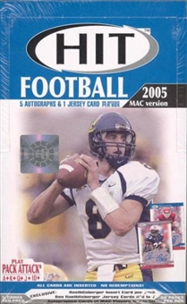 2005 Sage Hit MAC Edition Football Hobby Box