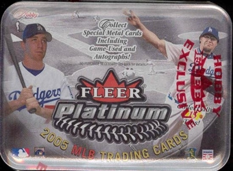 2005 Fleer Platinum Baseball Hobby Box
