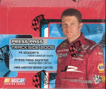 2005 Press Pass Trackside Racing Hobby Box
