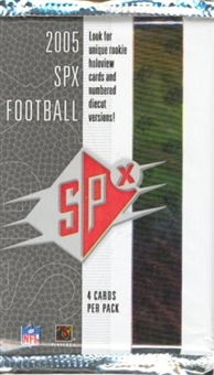 2005 Upper Deck SPx Football Base Set (NM-MT)