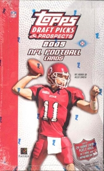 2005 Topps Draft Picks and Prospects Football Hobby Box