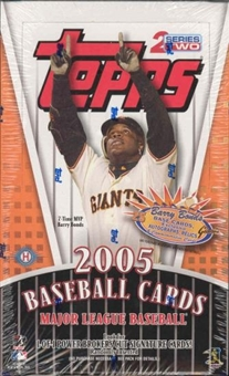 2005 Topps Series 2 Baseball Hobby Box