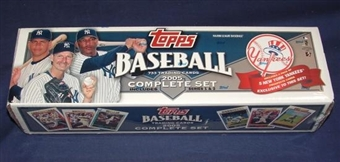 2005 Topps Factory Set Baseball (Box) (N.Y. Yankees)