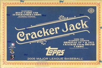 2005 Topps Cracker Jack Baseball Hobby Box