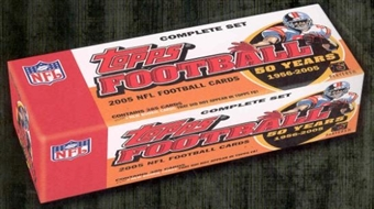 2005 Topps Football Hobby Factory Set (Box)