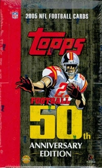 2005 Topps Football Jumbo Box