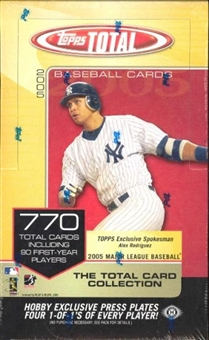 2005 Topps Total Baseball Hobby Box