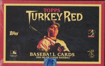 2005 Topps Turkey Red Baseball Hobby Box