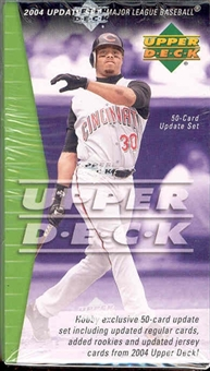 2005 Upper Deck Update Baseball (Box) Factory Set (2005 Set)