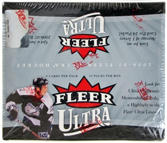 2006/07 Fleer Ultra Hockey 24-Pack Retail Box