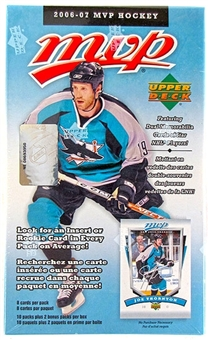 2006/07 Upper Deck MVP Hockey 12 Pack Blaster Box