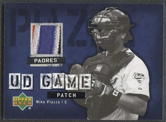 2006 Upper Deck UD Game Patch #MP1 Mike Piazza SP