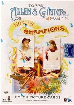 2006 Topps Allen & Ginter Baseball Hobby Box