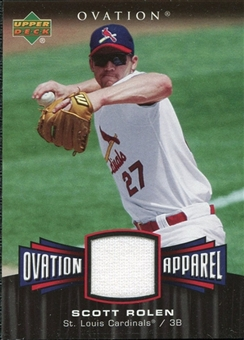 2006 Upper Deck Ovation Apparel #SR Scott Rolen Jersey